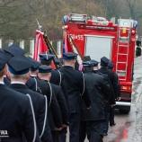 Uroczystość poświęcenie samochodu strażackiego OSP ŻURAW