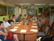 Spotkanie w PPJ w Złotym Potoku  w sprawie  nowych zasad dofinansowania projektów