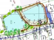 Projektowane zagospodarowanie terenu